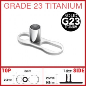 Implant Dermal Anchor TYTAN 23 micro dermal (mi23)