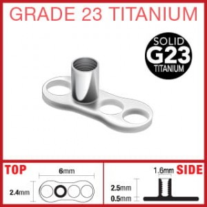 Implant Dermal Anchor TYTAN 23 microdermal (mi21)