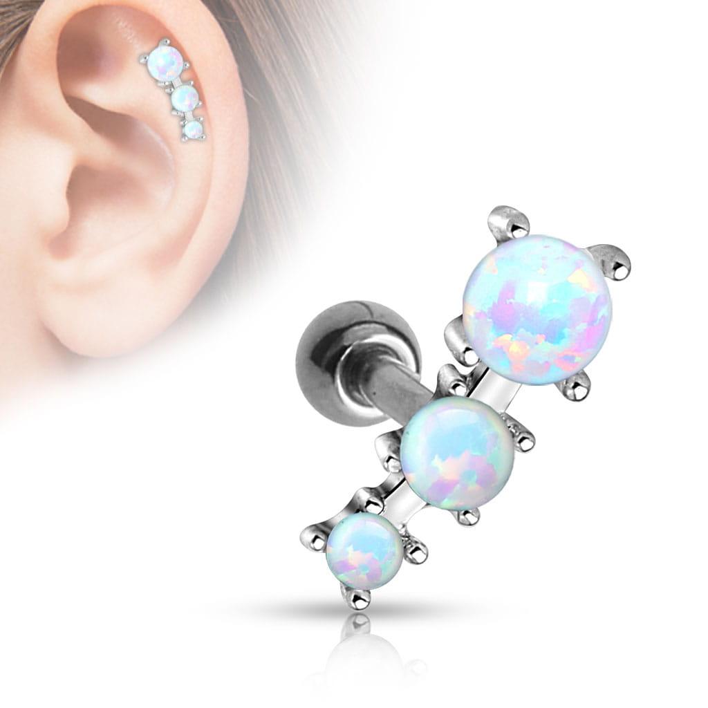 Kolczyk do ucha helix chrząstka kryształki piercing (u76) Piercing4u ... abb1132ab51